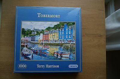 Gibsons Tobermory 1000 piece jigsaw puzzle