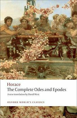 The Complete Odes and Epodes by Horace Paperback Book (English)
