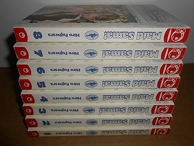 Maid Sama! Vol. 1-8 (TOKYOPOP) Manga Book Lot in English