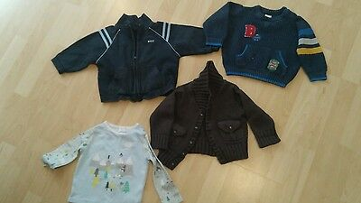 4 ITEMS! baby boys clothes 9-12 months. Good condition.