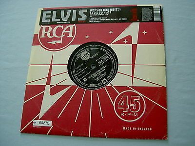 "ELVIS PRESLEY (Now And Then There's) A Fool Such As I 2005 EU numbered 10"" vinyl"