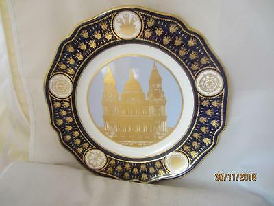 Ltd Edition Spode 'st.paul's' Cathedral Royal Wedding Plate