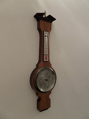 Vintage Barometer with Thermometer Banjo Style (in full working order)