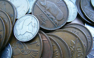 Irish Half Penny One Penny Threepence Coins - Chose Your Year And Coin - Ireland