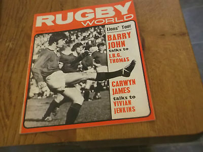 October 1971 Rugby World  British Lions Tour  Win In New Zealand