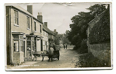 Tanworth In Arden, Nr Redditch, man with donkey cart, possibly delivering piano