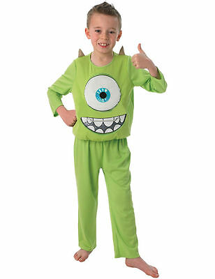 Child Monsters University Inc Deluxe Mike Kids Boys Fancy Dress Costume Large