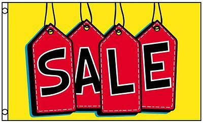 SALE Flag Tags Business Banner 3 x 5 Foot Advertising Sign 3x5 Indoor Outdoor