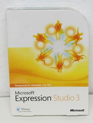 TOPPREIS --- Microsoft Expression Studio 3 - Deutsch - NEU