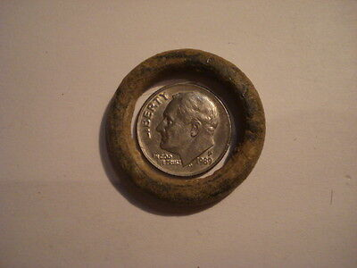 Ancient Outstanding Bronze Celtic Ring Proto Money Old ... 600 - 400 Bc Coin