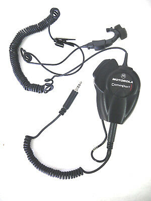 Motorola CommPort NTN8819A Ear Microphone System