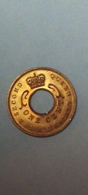 EAST AFRICA 1959-KN 1 Cent coin  uncirculated