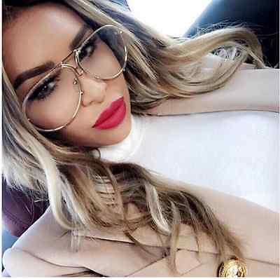 Aviator Super Poshe Twirl Metal Design Frames Women EyeGlasses
