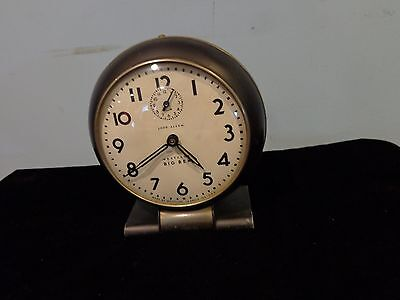 Vintage Big Ben Made By Westclox Made In USA Loud Alarm Black and Silver Tone