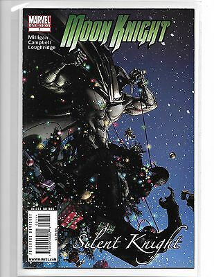 Moon Knight: Silent Knight #1 One-Shot -- Clayton Crain Cover