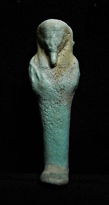 Zurqieh - Ancient Egypt . Beautiful Inscribed Ancient Ushabti , 600 - 300 B.c