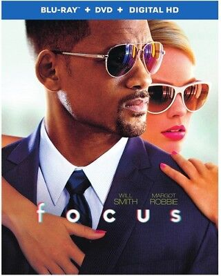 Focus [New Blu-ray] With DVD, 2 Pack, Digitally Mastered In Hd, Subtitled