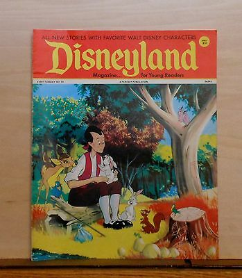 Disneyland Magazine #25 - Johnny Appleseed cover - 1972 Fawcett - large issue