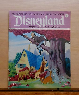 Disneyland Magazine #30 - The Aristocats cover - 1972 Fawcett - large issue