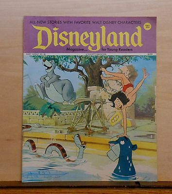 Disneyland Magazine #38 - Jungle Book cover - 1972 Fawcett - large issue