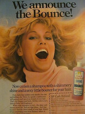 Love's Baby Soft, Shampoo, Full Page Vintage Print Ad