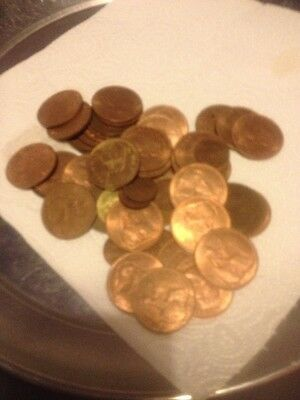 Job Lot Of Old One Penny