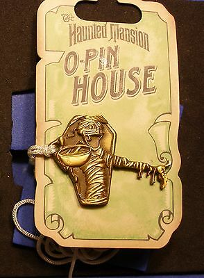 DLR Haunted Mansion O'Pin House Keys Mummy Pin