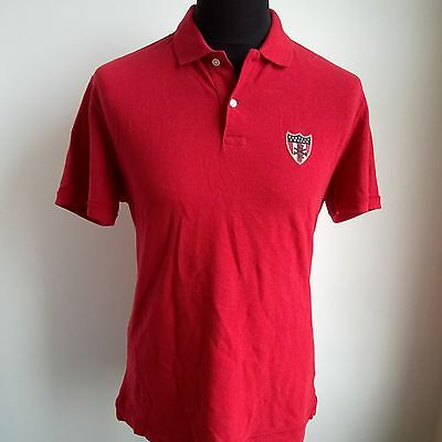Red Leisure Polo Shirt Tour Of Duty Ralph Lauren Jersey Size Adult M