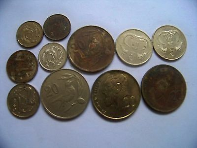Collectable Coins, Cyprus,
