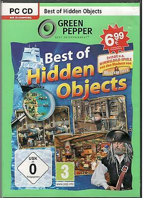 BEST OF HIDDEN OBJECTS   WIMMELBILD-SPIEL   PC  CD-Rom
