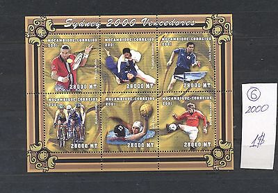 Mozambique 2001 MNH sheet.Olimpic Sydney 2000 I.See scan.