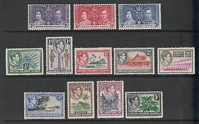 GEOVI BR SOLOMON IS 39 set to 1/- fresh lmm cat £15