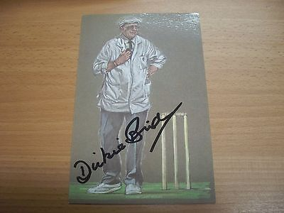Dickie Bird Print Drawn by Ken Taylor - Signed by Dickie Bird