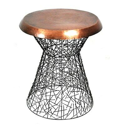 Silkroute STO27148  Jill Round Wired Stool
