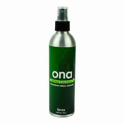 Ona Spray 250ml Apple Crumble Fresh Linen Pro Geruchneutralisierer Grow Geruch