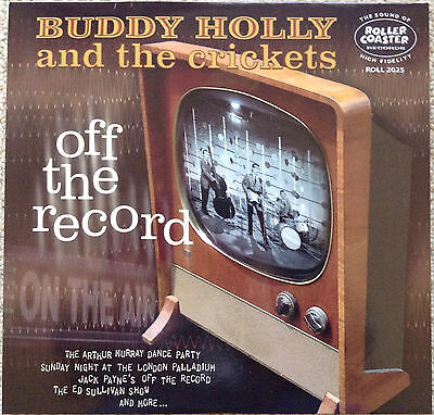 Buddy Holly & The Crickets: Off The Record (10-Inch Lp)