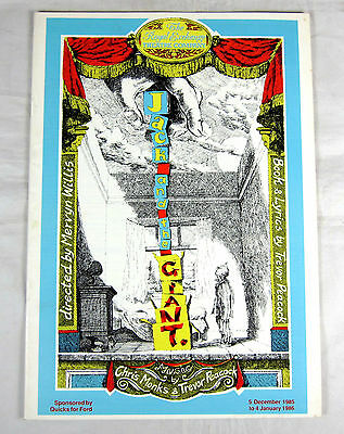 SIGNED Theatre Programme - Jack and the Giant - Royal Exchange Manchester 1985