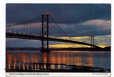 Post Cards Forth Road Bridge From Queensferry,
