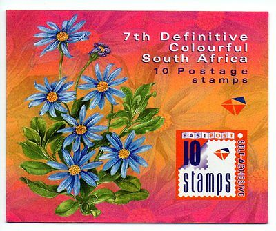 South Africa - 2001 Definitive Flowers Booklet - MNH - Complete  2001.04.25