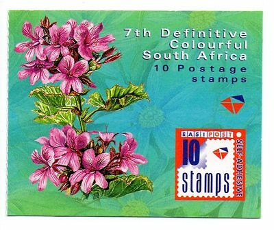 South Africa - 2000 7th Definitive Flowers Booklet - MNH - Complete