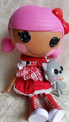 Lalaloopsy  Doll  -Scarlet Riding Hood & Pet Wolf   - Ex Cond