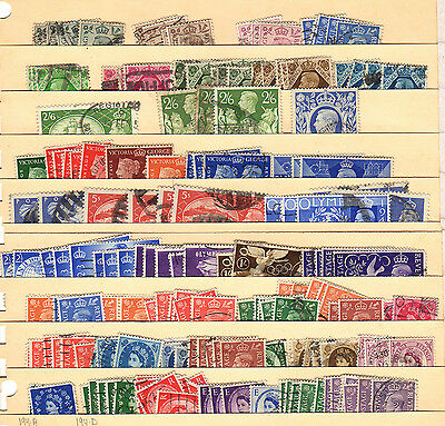 used lot of Great Britain (#L292)