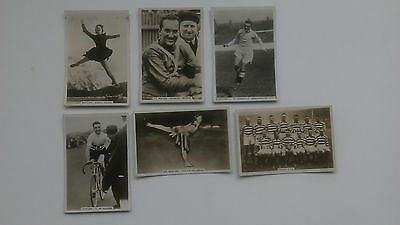 6 X Senior Service/pattreiouex,   Sporting Events And Stars.  1935