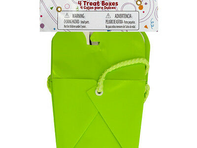Bulk Buys EL562-24 Lime Green Party Favor Treat Boxes 24 Piece