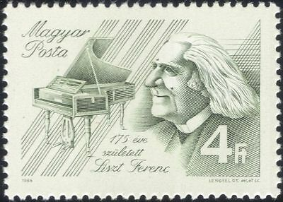 Hungary 1986 Franz Liszt/Music/Composers/Piano/Musicians/Instruments 1v (n45132)