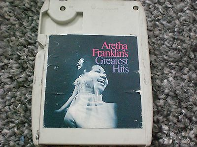 8 track tape - aretha franklin greatest hits