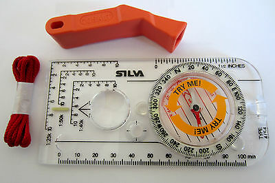 Silva Compass Expedition 4   360 Base plate Mountaineering Hiking DofE Scouts ML