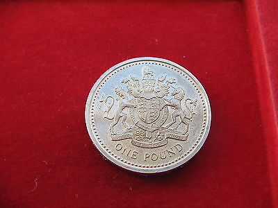 *rare* 1983 Sterling Silver Proof Gb One Pound Coin Free Uk Post