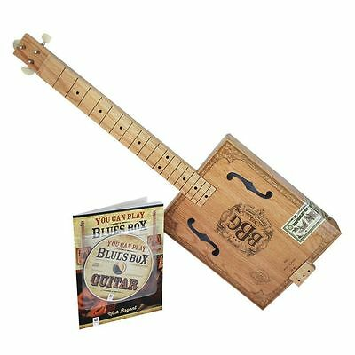 The Electric Blues Box Slide Guitar Build Your Own Cigar Box Guitar Kit Gift Box