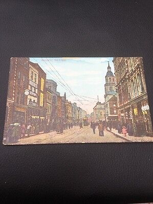 Antique Postcard of Worcester The Cross Worcestershire